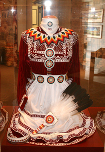 Traditional Choctaw Dress